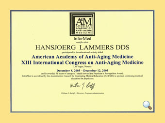 American Academy of Anti-Aging Medicine | FirstBioDent